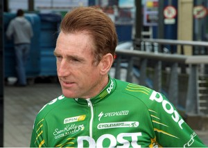 Sean Kelly at the 2008 Cycle Classic launch