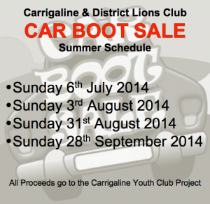 New Summer Car Boot Sale Schedule
