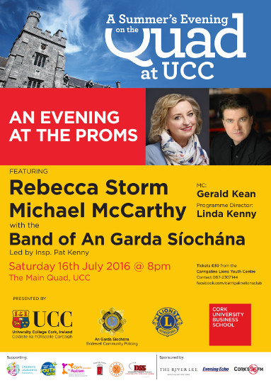 UCC Summer Evening on the Quad 2016